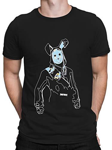 Fortnite Camiseta para Hombre Negro Talla Medium