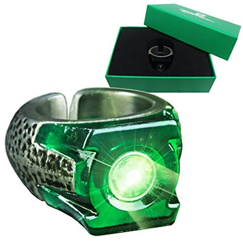 The Noble Collection Green Lantern Light-Up Ring ()...