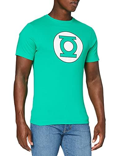 DC Comics Camiseta Manga Corta Green Lantern Circle Logo...