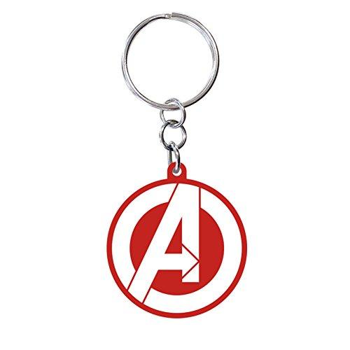 ABYstyle - MARVEL - Llavero PVC - Logo Avengers