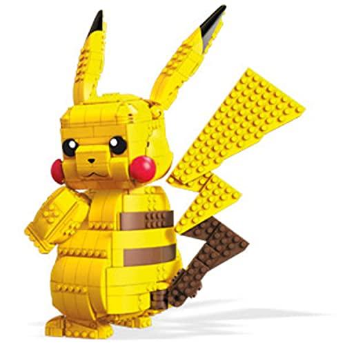 Mega Construx - Pokemon Figura Jumbo Pikachu, Juguetes...