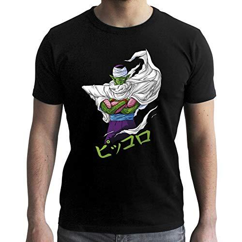 ABYstyle - Dragon Ball - Camiseta Piccolo Hombre Negro (M)