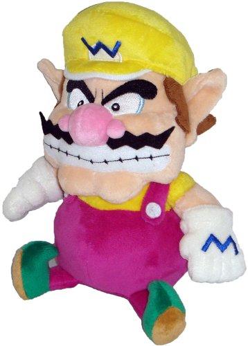 Super Mario Plush - 7' Wario Soft Stuffed Plush Toy Japanese...