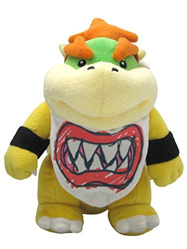 Sanei Super Mario All Star Collection 8' Bowser Jr. Plush,...