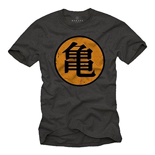 MAKAYA Camiseta Roshi's Gym - Kame - Dragon L