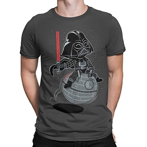 154-Camiseta Bouncy Star (by Fernando Sala Soler) (XXL, Gris...