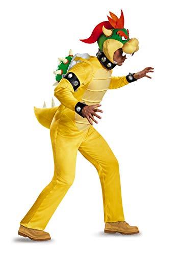 Nintendo Super Mario Bros- Deluxe Bowser Disfraz, Color,...