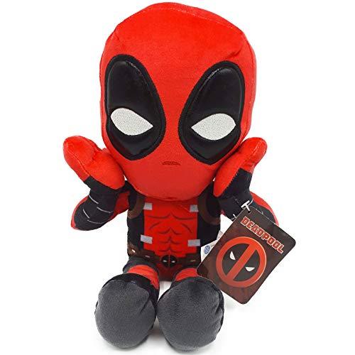 Marvel - Peluche Deadpool Postura Sorpresa 32cm Calidad...