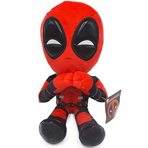 Marvel - Peluche Deadpool Postura Manos Corazon 32cm Calidad...