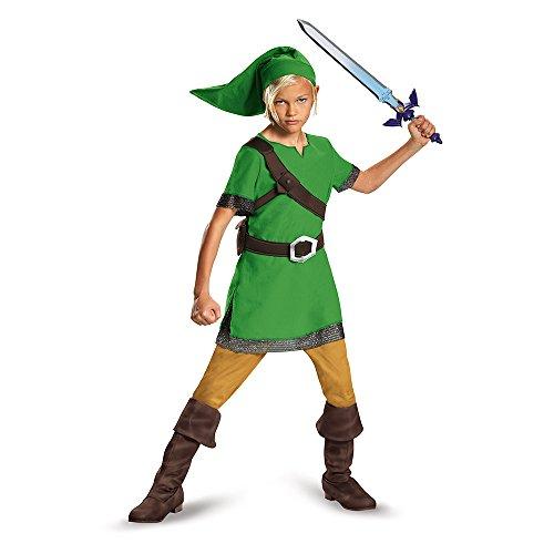 The Legend of Zelda DISK85718G - Disfraz de Nintendo Link,...