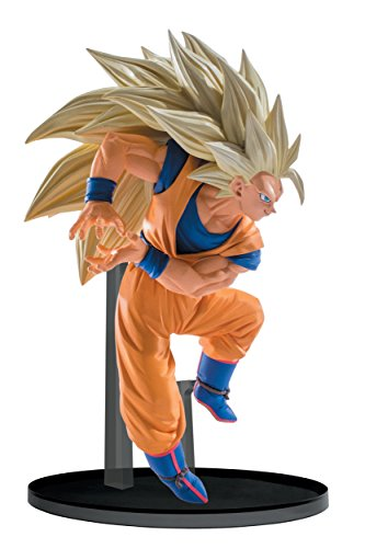 Banpresto Dragon Ball Super Saiyan 3 Goku esculturas Big...