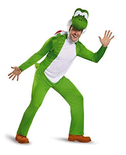 Nintendo Disfraz de Super Mario para adultos videojuegos,...