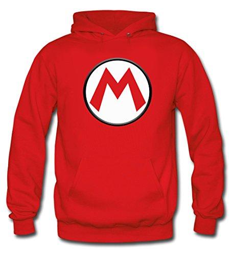Mx Games Sudadera Super Mario Bros con el diseño Logo M...