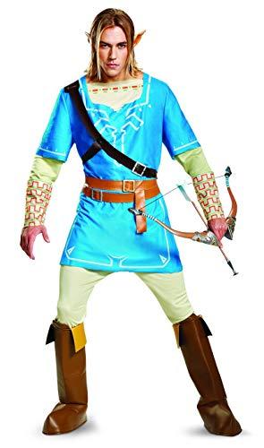 Legend of Zelda Link Breath of the Wild Mens Deluxe Fancy...
