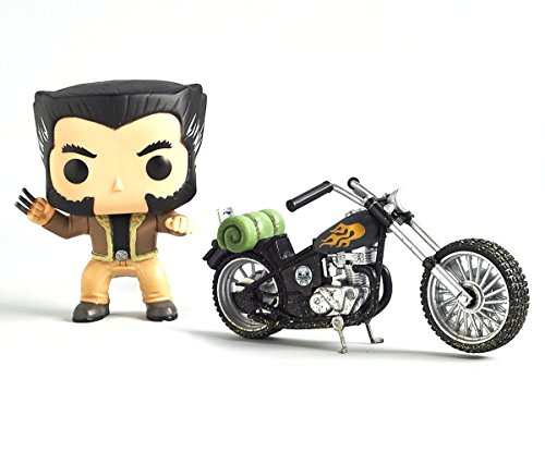 -Funko Pop Wolverine's Motorcycle -Marvel Collectors Corps...