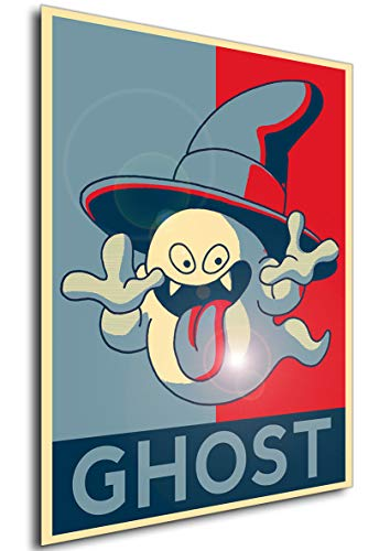 Instabuy Poster - Propaganda - Dragon Quest - Ghost A4 30x21
