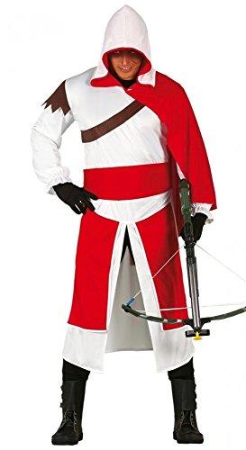 shoperama Templo Ritter Hombre Disfraz de Talla M/L Assassin...