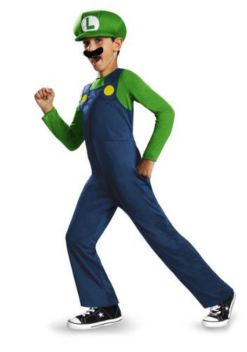 Disguise Nintendo Super Mario Brothers Luigi - Disfraz...