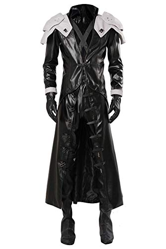 helymore Hombres Anime Juego Cosplay Disfraz de Sephiroth...