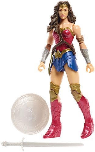 JUSTICE LEAGUE Figura básica Wonder Woman Core Suit (Mattel...