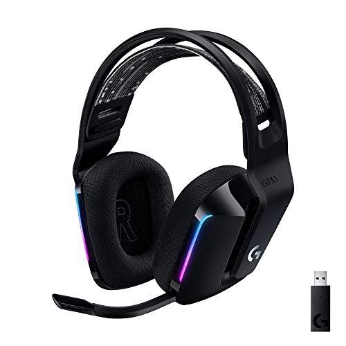 Logitech G G733 - Auriculares con Micrófono Inalámbricos,...