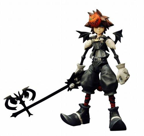 Kingdom Hearts 2 Play Arts Halloween Town Sora Figure (japan...