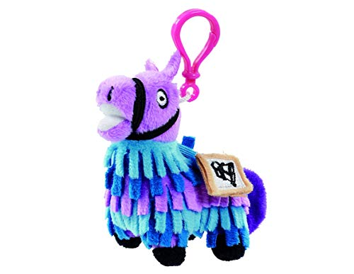 Fortnite FRT08101 - Llavero de Peluche con Llama, Multicolor