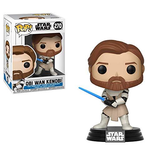 Funko 31796 POP Bobble: Star Wars: Clone Wars: Obi Wan...