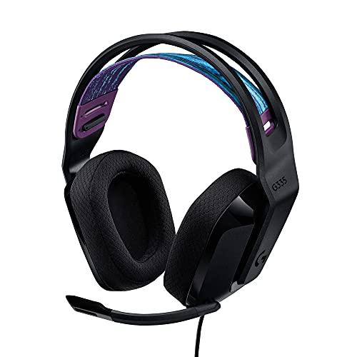 Logitech G335 Auriculares con Cable para Gaming, Micrófono...