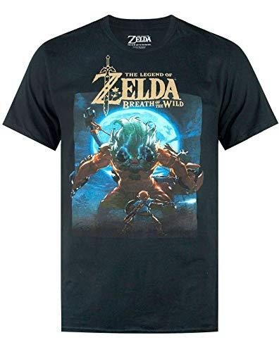 Zelda The Legend of Breath of The Wild' Moonlight Camiseta...