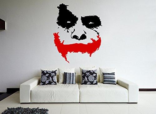 AnOL (100x83 cm) Pared Calco Vinilo Miedo Joker Placa...