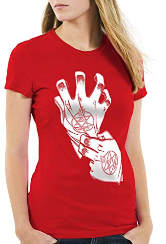 style3 Roy Mustang Alchemist Guante Camiseta para Mujer...