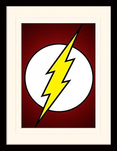 1art1 Flash - The Flash Symbol, DC Comics Póster De...