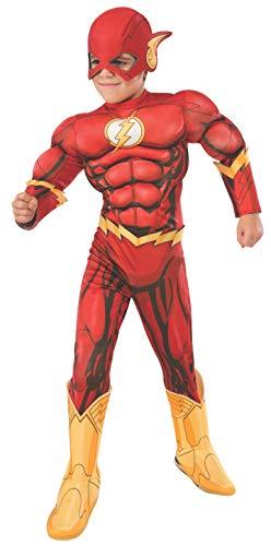 Rubie's- DC Flash Disfraz, Color multiolour, Medium...