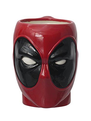Monogram Marvel Taza 3D Deadpool, Multicolor (0077764685439)