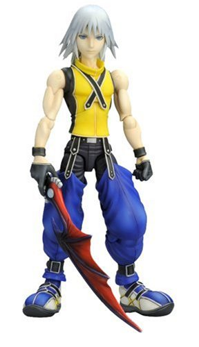 Kingdom Hearts Kingdom Hearts Play Arts Riku Action Figure...