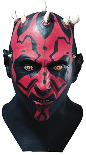 Star Wars tm Darth Maul tm Adult Latex Full Overhead Mask...