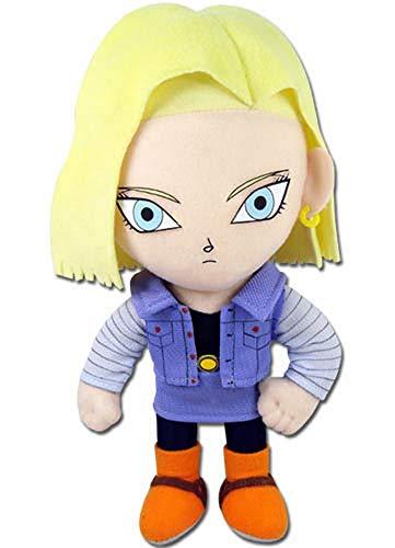Dragon Ball Z: Peluche Pequeño Androide 18