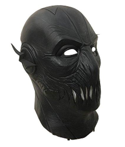 Toys And Masks GB HALLOWEEN CARNAVAL COSPLAY Negro Látex...