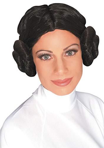 Rubie's Princesse Leia Star Wars wig for women. (peluca)