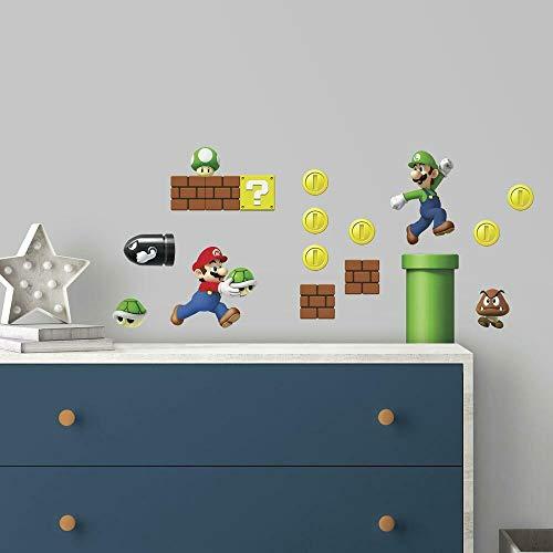 RoomMates Room-Nintendo Super Mario construyendo