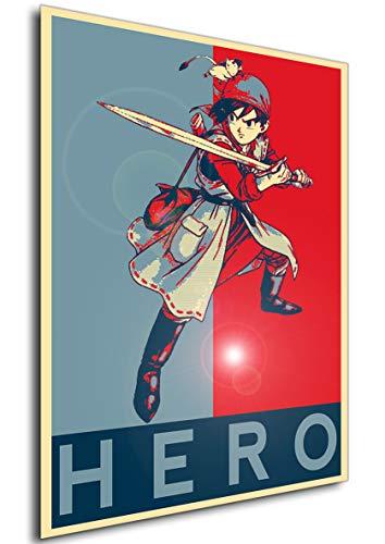 Instabuy Poster - Propaganda - Dragon Quest VIII - Hero...