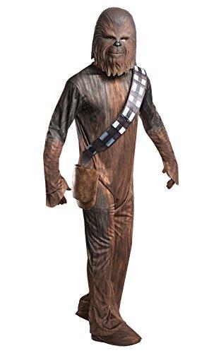 Star Wars - Chewbacca Disfraz, Única (Rubie's 820966)