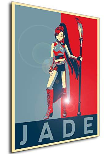 Instabuy Poster - Propaganda - Dragon Quest XI - Jade A4...