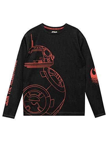 Star Wars Camiseta de Mangas largas para niño BB8...