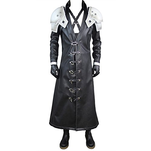 Final Fantasy Vii: Advent Children Sephiroth Costume Set US...
