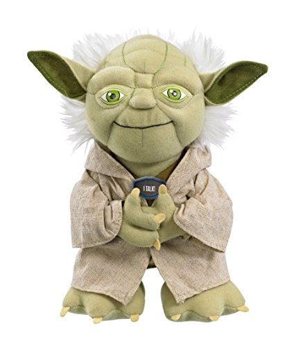 Funko 00172J Star Wars 9' Talking Yoda plush in gift box