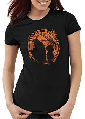 style3 Full Metal Duo Camiseta para Mujer T-Shirt Anime...