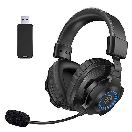 7.1 Auriculares Gaming Inalámbricos PS5 PS4, [Regalos]...
