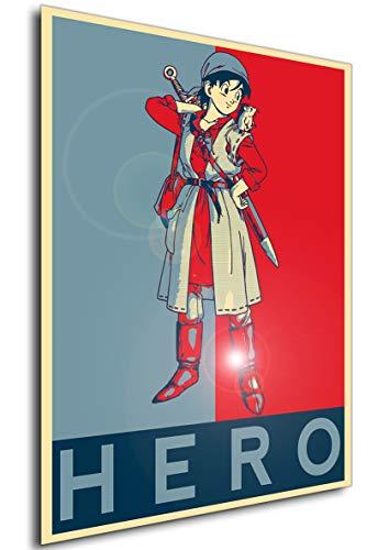 Instabuy Poster - Propaganda - Dragon Quest VIII - Hero A3...